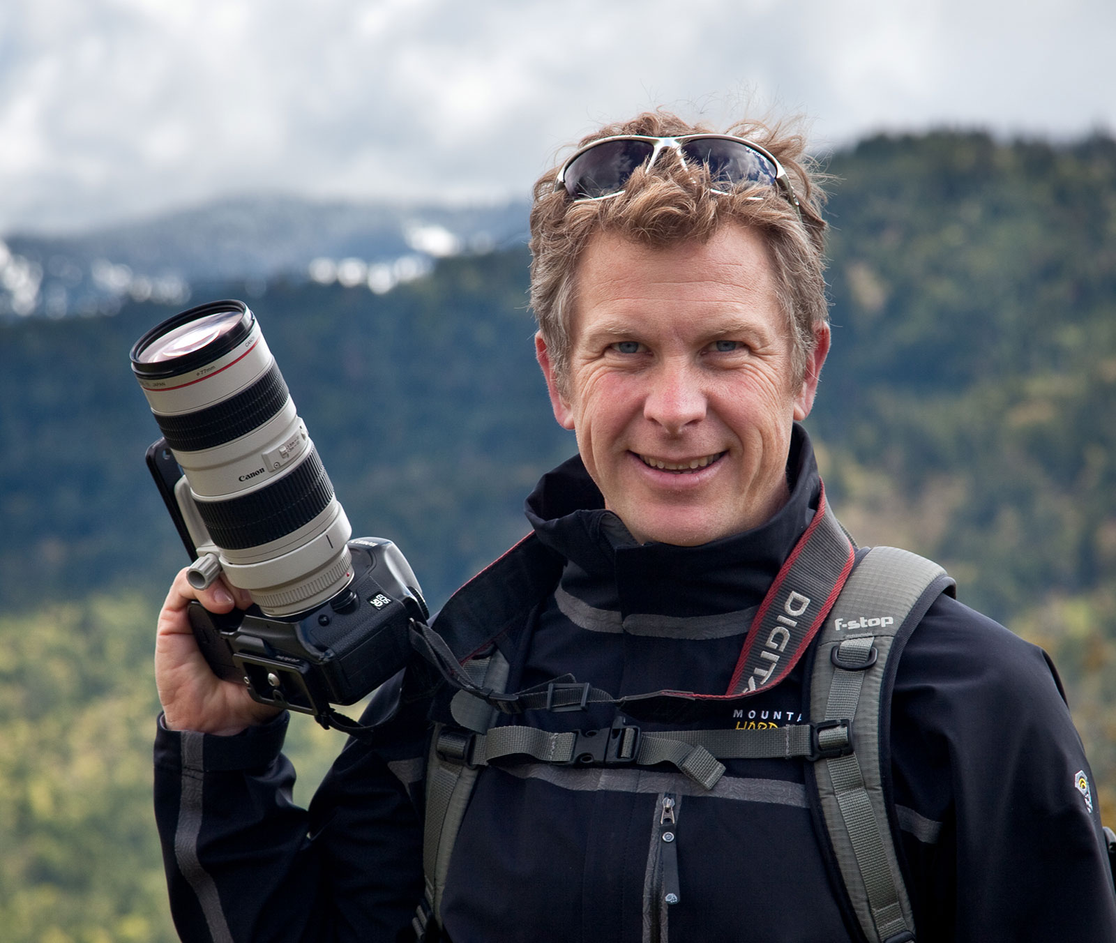 Sean Bagshaw, Landscape Photographer and Educator